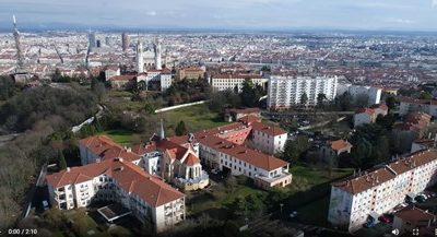 Hôpital gérontologique de Fourvière à Lyon (69)