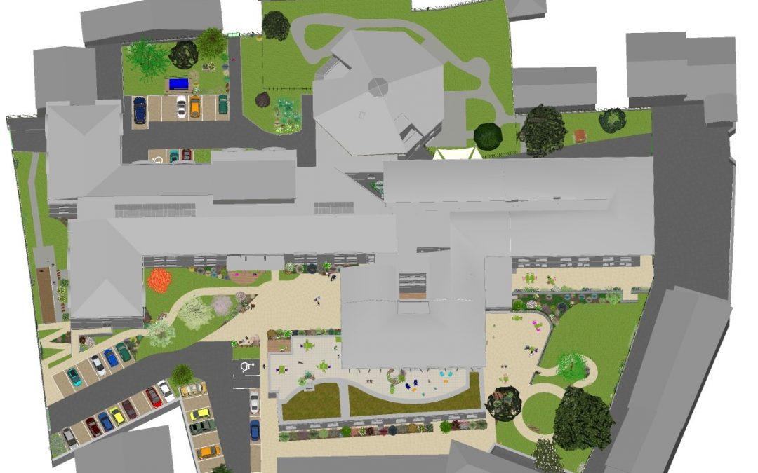Un vaste « Jardin de Vie » imaginé autour des bâtiments de l'EHPAD de Mornant (69)