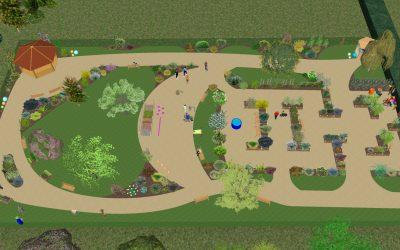 Un grand « Jardin de vie » pour des personnes polyhandicapées à Ecquevilly (78)
