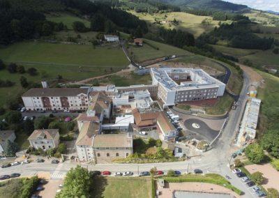 Hôpital de Grandris (69) Hôpital Nord-Ouest – GHT Rhône Nord-Beaujolais-Dombes