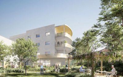 Un beau projet pour la reconstruction de l'EHPAD de Villefranche (2ème rang du concours)