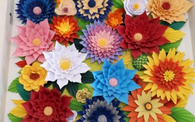 Coup de cœur pour les Décors Fleurs de la MAS de l'Institut du Val Mandé !
